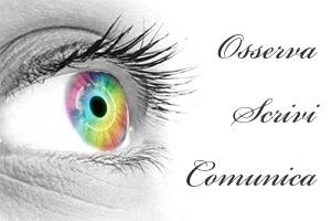 Autori IN – Occhio di donna con iride arcobaleno