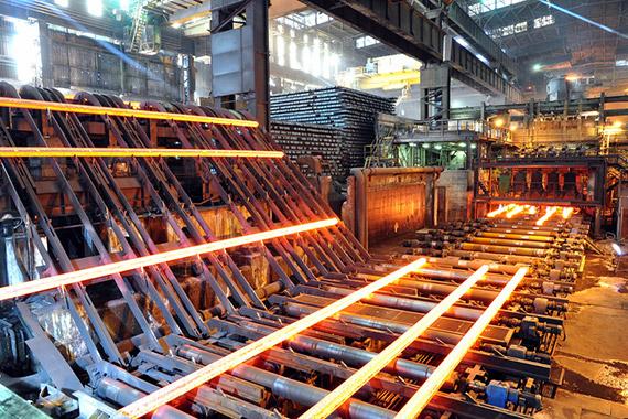 ImprendiNews – Interno di un'industria siderurgica
