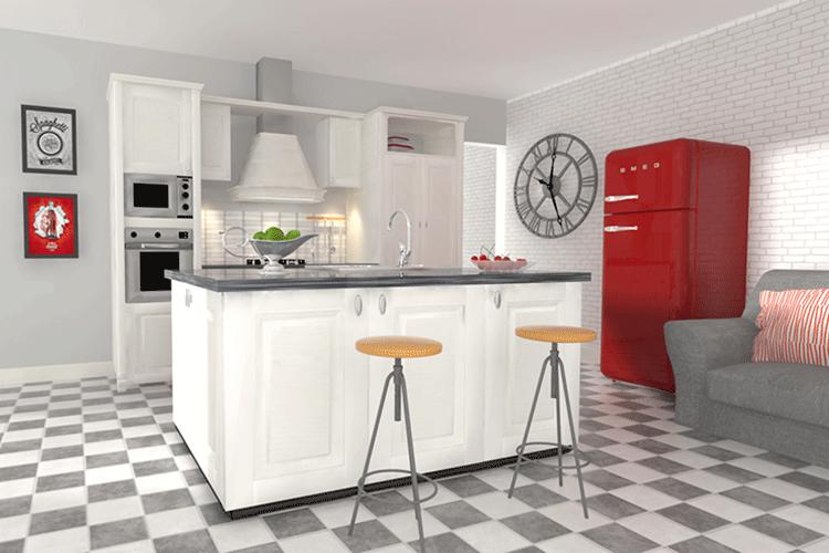 SiPuò.Design – Esempio di Interior Design