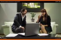 ImprendiNews – Backstage del video promozionale ImprendiNews, gli attori sono Ivan Ricci e Alessia Zambotto