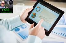 ImprendiNeews – Seconda immagine della rubrica FARM di Alessio Del Zotto, un uomo esamina un grafico su un tablet