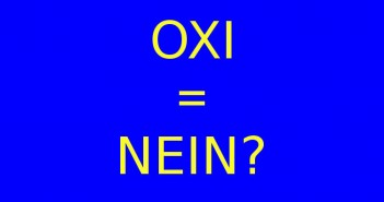 ImprendiNews – Grexit, OXI = NEIN?