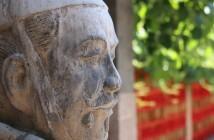 ImprendiNews – Cina, immagine di una statua raffigurante un guerriero