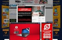 ImprendiNews – Adblocker, screenshot della testata Punto Informatico